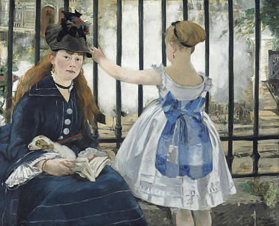 Painting - The Railway  by Edouard Manet