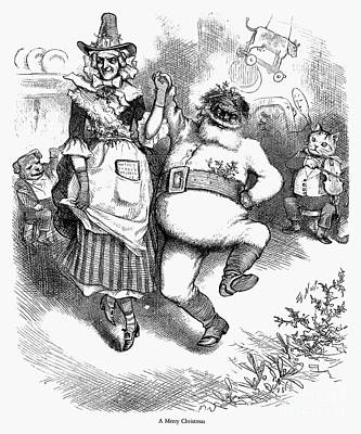 Thomas Nast: Christmas Print by Granger