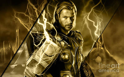 Thor Collection Art Print