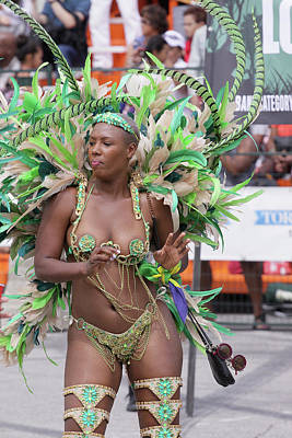 Photograph - Toronto Caribbean Festival by Hugh McClean