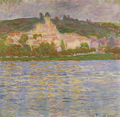 Villa Painting - Vetheuil by Claude Monet