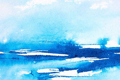 Photograph - Watercolor Background by Dariusz Gudowicz