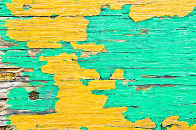 Weathered Wood Art Print by Tom Gowanlock