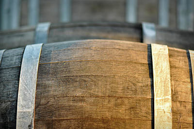 Photograph - Wine Barrel by Brandon Bourdages