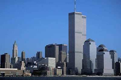Photograph - World Trade Center by Carl Purcell