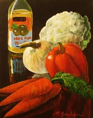 Painting - 100 Percent Pure by Marilyn Jacobson