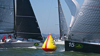 Photograph - Rolex Regatta San Francisco by Steven Lapkin