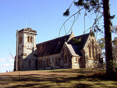 Photograph - 100 Year Old Church 2 by Elisabeth Dubois