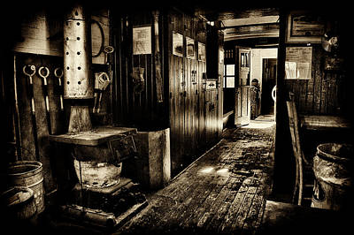 Photograph - 100 Year Old Railroad Caboose by Paul W Faust - Impressions of Light