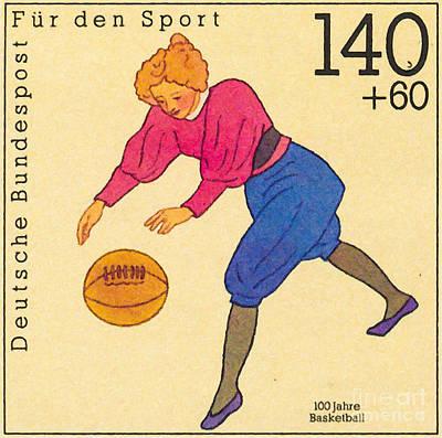 100 Years Of Basketball Art Print