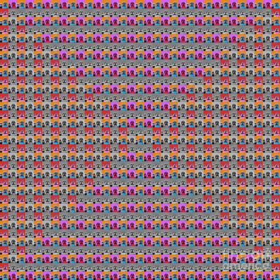 Digital Art - 1000 Buddhas Pop Art - 2 by Jean luc Comperat