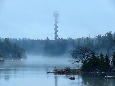 Photograph - 1000 Island Tower by Dennis McCarthy