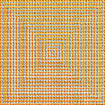 Digital Art - 1000 Om by Jean luc Comperat