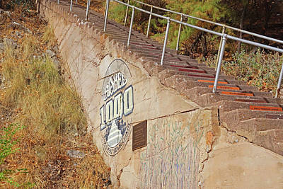 Photograph - 1000 Step Great Stair Climb Bisbee Arizona Az by Toby McGuire