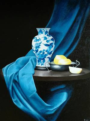 Painting - Vase On The Table by Ramona Boehme