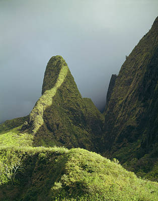 Photograph - 100613 Iao Needle Hawaii by Ed Cooper Photography