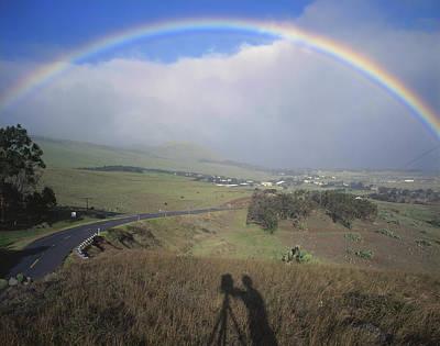 100860 Rainbow In Hawaii Art Print