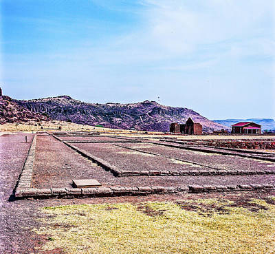 Photograph - 1009.003 Fort Davis Texas In Color by M K Miller