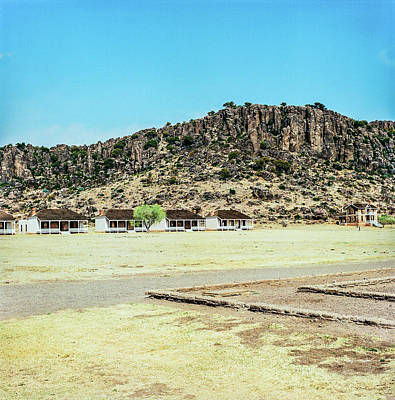 Photograph - 1009.006 Fort Davis Texas In Color by M K  Miller