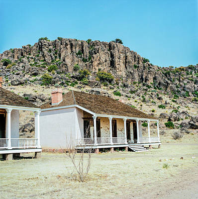 Photograph - 1009.007 Fort Davis Texas In Color by M K Miller