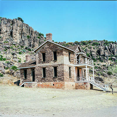 Photograph - 1009.009 Fort Davis Texas In Color by M K  Miller