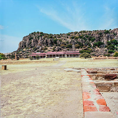 Photograph - 1009.011 Fort Davis Texas In Color by M K Miller
