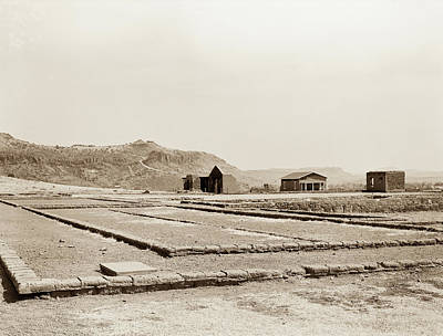 Photograph - 1009.300 Fort Davis Texas Antique Black And White by M K Miller