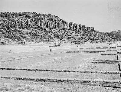 Photograph - 1009.502 Fort Davis Texas Classic Black And White by M K Miller
