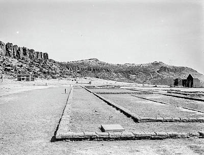 Photograph - 1009.507 Fort Davis Texas Classic Black And White by M K Miller