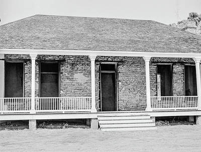 Photograph - 1009.509 Fort Davis Texas Classic Black And White by M K Miller