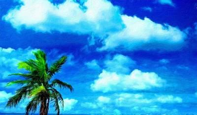Cloud Painting - Nature Landscape Nature by Margaret J Rocha
