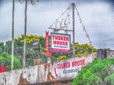 Photograph - 10118 Tusker House by Pamela Williams