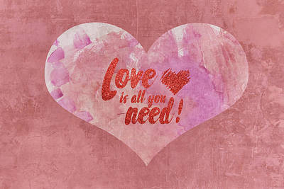 Mixed Media - 10126 All You Need by Pamela Williams