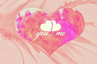 10183 You And Me Art Print