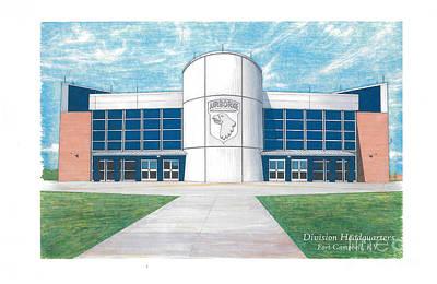 101st Airborne Division Headquarters Art Print