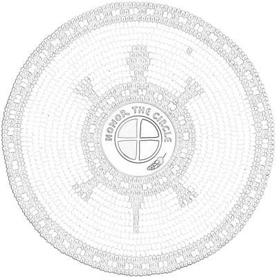 Mixed Media - 102007- Honor_the_circle by Douglas K Limon