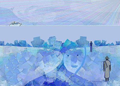Digital Art - 1023 by Irmgard Schoendorf Welch