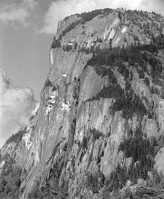 Photograph - 102986-bw Grand Wall Stawamish Chief by Ed Cooper Photography