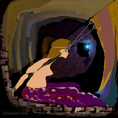 Prison Painting - 1040 -   Prison  Of Mind by Irmgard Schoendorf Welch