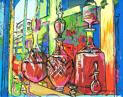 Pharmacy Painting - 105 by John Boles
