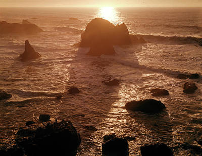 Photograph - 106046 Sunset Kibesillah Beach Ca by Ed Cooper Photography