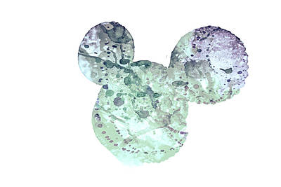 Mixed Media - 10694 Mouse Ears by Pamela Williams