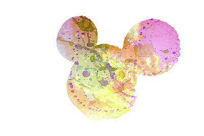 Mouse Mixed Media - 10695 Mickey by Pamela Williams