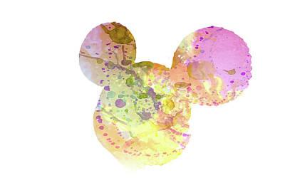 Mixed Media - 10695 Mickey by Pamela Williams