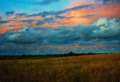 Oil Painting - Landscape Definition Nature by Margaret J Rocha