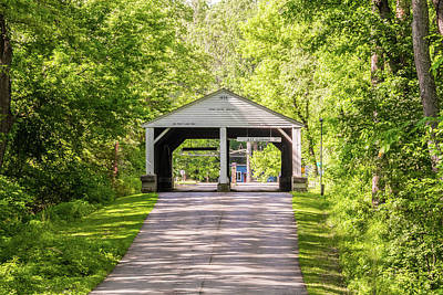 Photograph - 10707 Ramp Creek Bridge by Pamela Williams