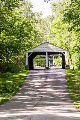 Photograph - 10708 Ramp Creek Bridge by Pamela Williams