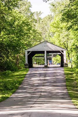 10708 Ramp Creek Bridge Original by Pamela Williams