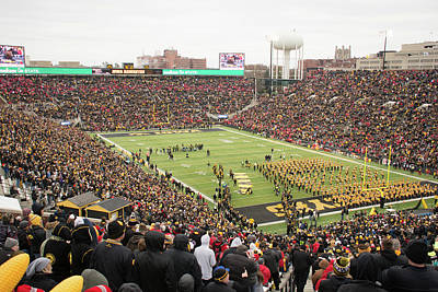 Photograph - 10725 Kinnick Stadium by Pamela Williams