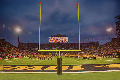 Photograph - 10727 Kinnick Stadium by Pamela Williams